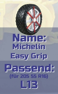 205 55 R16 Michelin Easy Grip