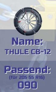 205 55 16 Thule CB12 Schneeketten