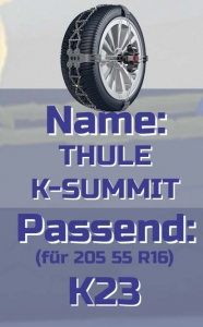 205 55 R16 THULE K-Summit
